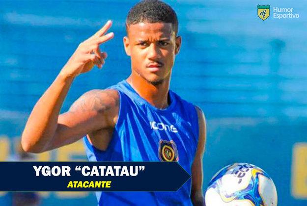 Apelidos inusitados do futebol: Ygor Catatau, jogador do Vitória
