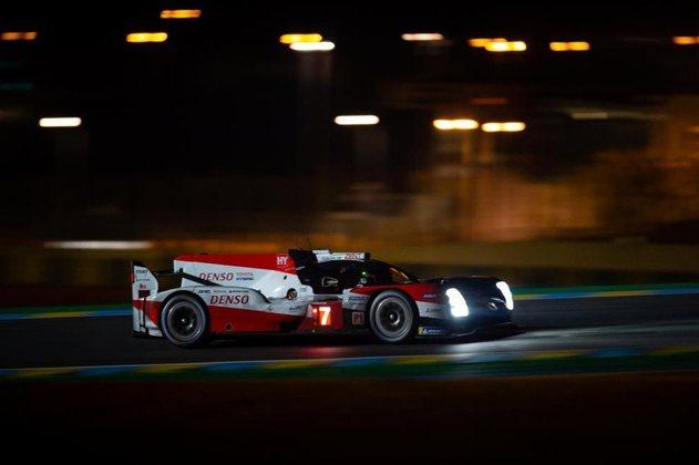 Apesar da pole e de liderar primeira metade, o Toyota #7 foi apenas terceiro