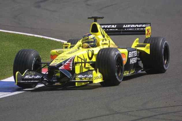 Apesar de ser um dos grandes nomes da história da Jordan, Heinz-Harald Frentzen foi dispensado no meio de 2001 para dar lugar a Ricardo Zonta