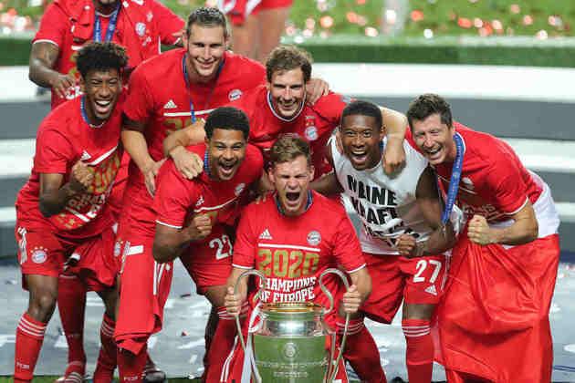 Apesar de toda a luta dos jogadores do PSG, o Bayern ficou com a taça.