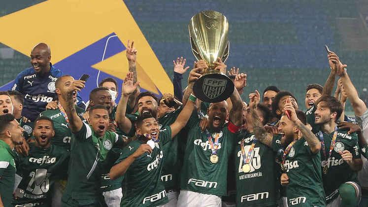 Apesar de viver um momento de transição, o Palmeiras conseguiu resultados com Vanderlei Luxemburgo: sob o comando do 'Pofexô', o Verdão conquistou a Florida Cup (pré-temporada) e o Paulistão, título que o clube não vencia desde 2008.