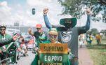 Protesto também teve como alvo os ministros do Supremo Tribunal Federal