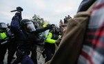 Protestos são contra a vitória de Joe Biden nas eleições presidenciais realizadas em novembro do ano passado