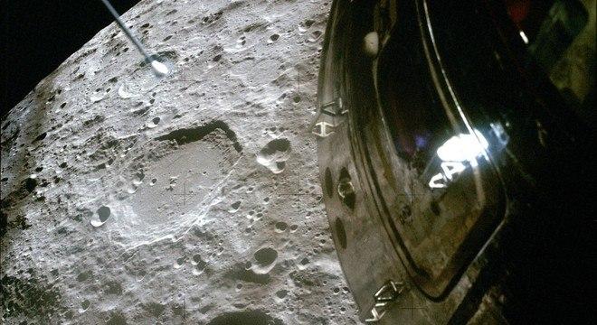 Imagem original tirada pela missão Apollo 13
