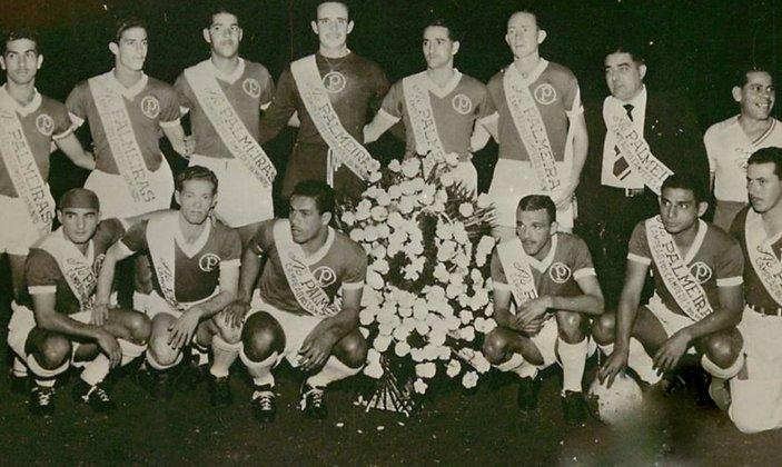 Após a Copa de 50, quando a Seleção Brasileira acabou com o vice para o Uruguai em pleno território nacional, o Palmeiras sagrou-se campeão da Copa Rio de 1951