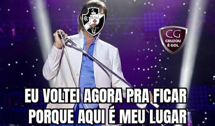 Após a derrota para o RB Bragantino e as vitórias de Bahia e Fortaleza, o Vasco voltou à zona de rebaixamento e acabou virando piada para os torcedores rivais. Confira na galeria! (Por Humor Esportivo)