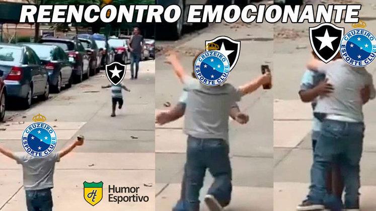 Após a derrota para o Sport, o Botafogo confirmou matematicamente o rebaixamento para Série B do Brasileirão. Nas redes sociais, os torcedores rivais não perdoaram e fizeram memes com o Glorioso. Confira! (Por Humor Esportivo)