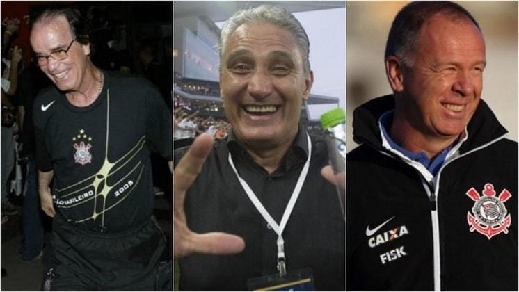 Após a recusa de Renato Gaúcho, o Corinthians volta a buscar um nome para substituir Vagner Mancini no comando técnico da equipe. Ao longo deste século, 23 treinadores diferentes passaram pelo clube, sem somar os interinos. Confira, na galeria, os técnicos do Timão desde 2001: