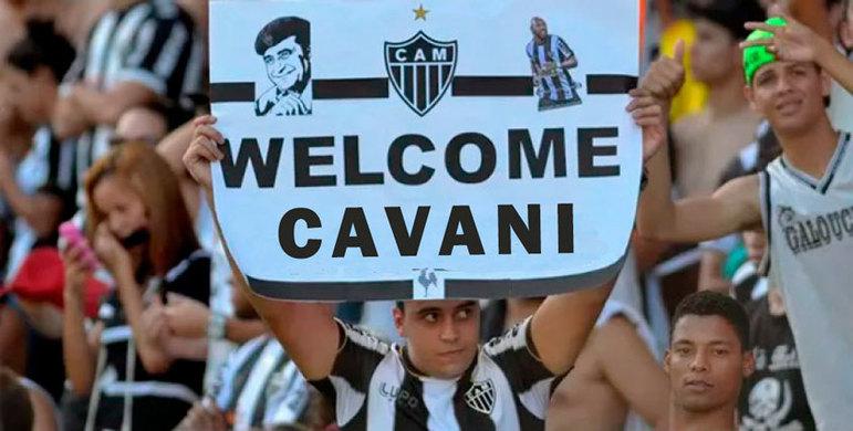 Após acerto de Cavani com Manchester United, Grêmio e Atlético-MG são alvo de memes