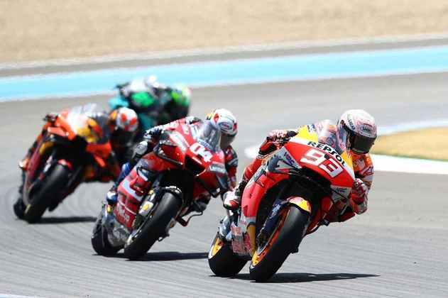 Após erro, Márquez foi obrigado a fazer prova de recuperação (Foto: Red Bull Content Pool)