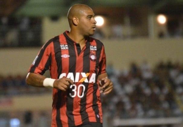 Após estourar no Flamengo, Adriano teve passagens de destaque que fizeram seu nome por Internazionale, Parma e São Paulo. No entanto, em 2014, foi contratado pelo Athletico-PR após dois anos afastado do futebol, mas não entregou o que era esperado: com vida noturna agitada e indisciplina, acabou despedido após apenas quatro jogos e um gol marcado.