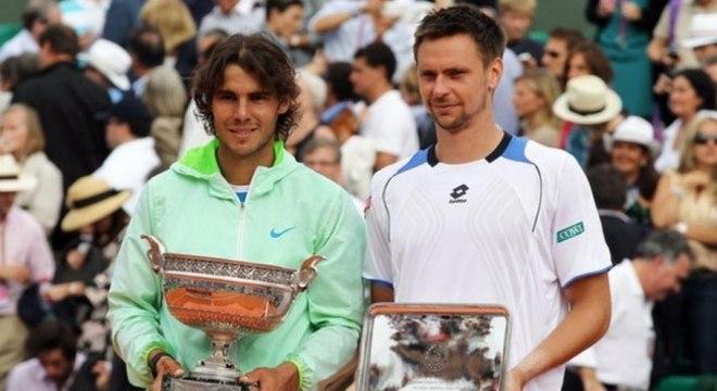 Após ficar fora do pódio em 2009, quando caiu nas quartas e viu Federer ser campeão, Nadal se sagrou penta em 2010, ao bater o sueco Robin Soderling por 3 a 0, com parciais de 6–4, 6–2 e 6–4.