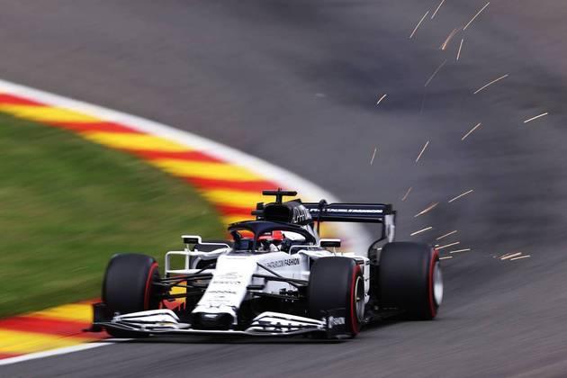 Após grandes classificações do companheiro, agora foi Daniil Kvyat quem se deu melhor (Foto: Getty Images/Red Bull Content Pool)