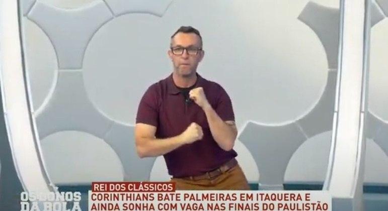 Após o Corinthians derrotar o Palmeiras no Campeonato Paulista, em julho de 2020, o Craque Neto não perdeu a chance de criticar a atuação dos jogadores palmeirenses. Neto ironizou Lucas Lima e chegou até a imitar uma dança feita pelo meia no aplicativo Tik Tok.