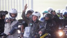 Após passeio de moto, Bolsonaro volta a defender 'voto auditável'