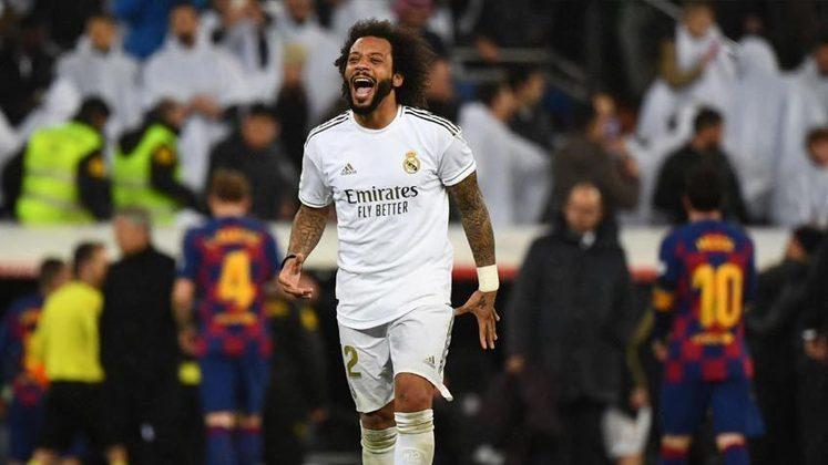 Após perder espaço no Real Madrid, o lateral-esquerdo Marcelo poderá deixar o clube merengue, segundo o jornal