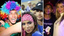 Em ano sem festas, relembre as folias de Neymar no Carnaval