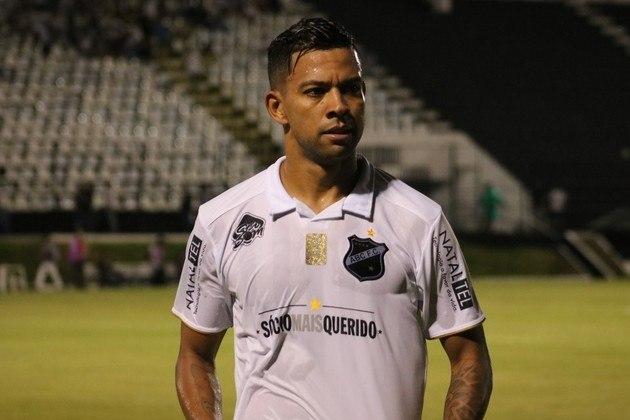 Após rodar por clubes como Athletico-PR, Cruzeiro e Botafogo, WALLYSON, de 32 anos, disputa a Série D pelo ABC.