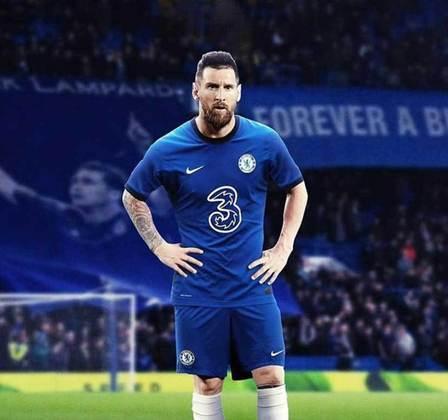 Após saída do Barcelona, montagens na web colocam Lionel Messi em outros clubes - Chelsea