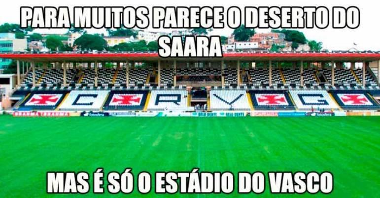 Após ter o fornecimento de água cortado em 2012, o Vasco ficou com a fama de não ter água em São Januário
