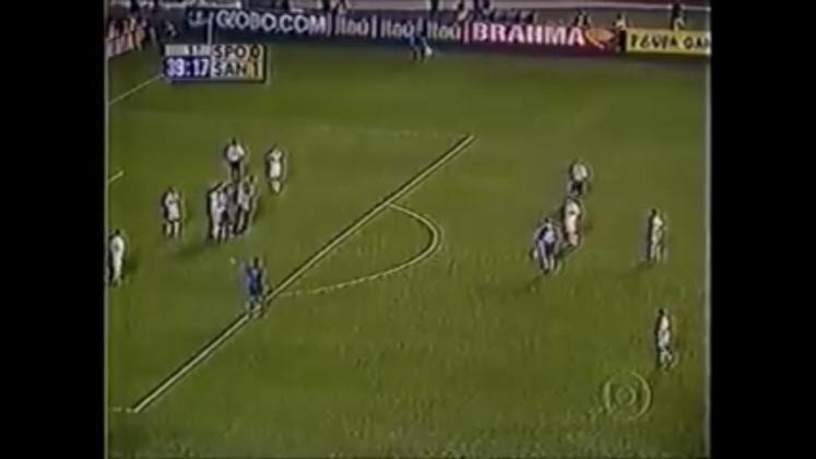 Após vencer o jogo da ida, por 1 a 0, o Tricolor precisaria somente de um empate para ser campeão. Ceni fez sua parte, empatando o jogo em 1 a 1, aos 39 minutos do primeiro tempo, após cobrança de falta.
