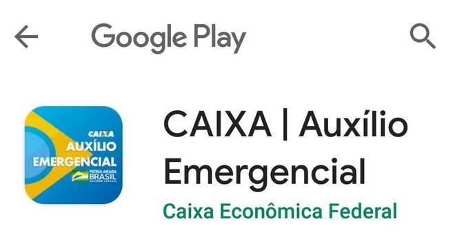 Aplicativo oficial do Auxílio Emergencial é da Caixa Econômica Federal