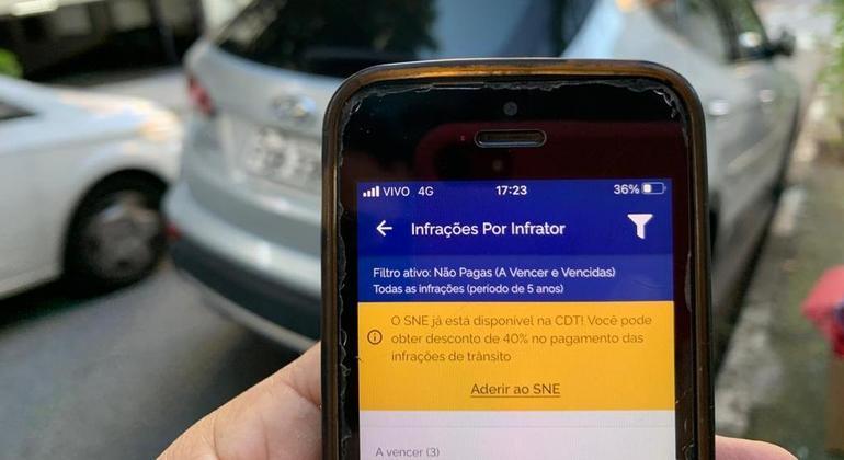 O cidadão pode habilitar o acesso ao SNE através do aplicativo da Carteira Digital de Trânsito