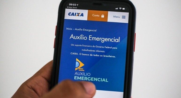 Aplicativo do auxílio emergencial