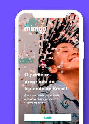 Para ter acesso aos produtos, é preciso baixar o app da Mimoo