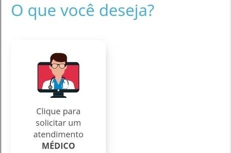 App permite escolher médico para atendimento
