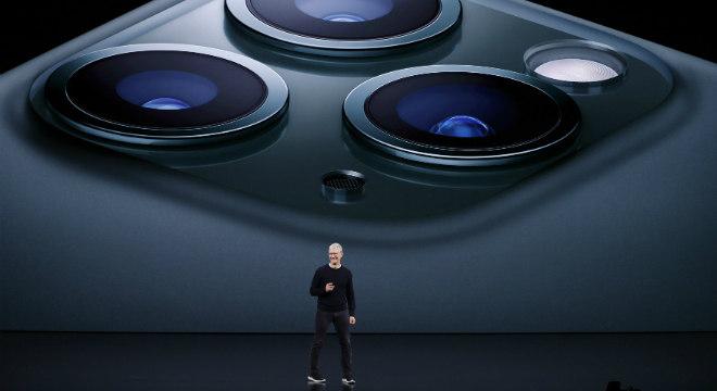 iPhone 11 teve com diferencial uma câmera traseira tripla