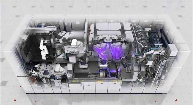 A ASML é atualmente o único fabricante de máquinas EUV para criação de chips