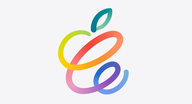 Convite para o evento conta com desenho estilizado de uma maçã