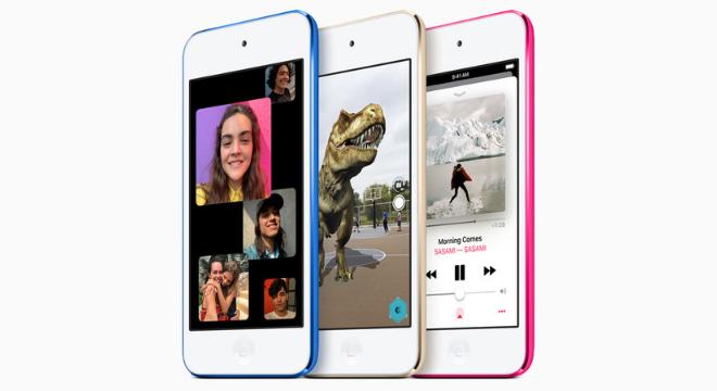 Novo iPod Touch tem nova configuração, mas com pouca mudança na aparência