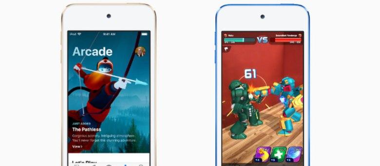 Novo iPod Touch suporta jogos em realidade aumentada e é compatível com Apple Arcade