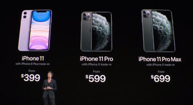Empresa também lançará modelos 11 Pro e 11 Pro Max