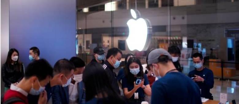 Procura pelo iPhone 12 na China é menor do que em lançamentos anteriores da Apple