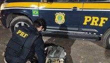 PRF apreende mais de R$ 130 mil em carro de Itapecerica da Serra