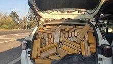 Motorista é preso com 1 tonelada de maconha em SUV