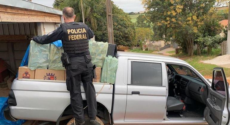 PF deflagra operação contra venda de cigarro contrabandeado no Paraná