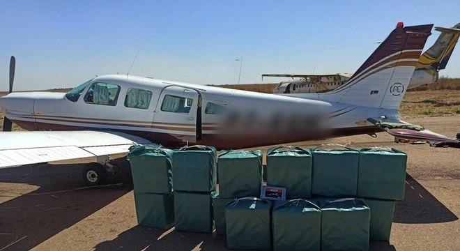 PF intercepta aviões com cocaína no Mato Grosso e no Mato Grosso do Sul