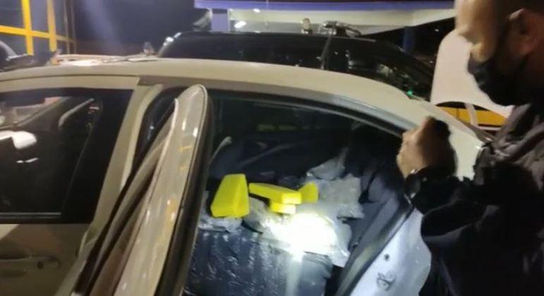 Polícia apreende drogas da fronteira do Paraguai que iriam para o Rio de Janeiro