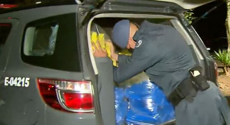 Policiais do Baep apreendem mais de 200 kg de maconha na zona leste de SP