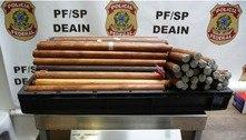 PF apreende mais de 30 quilos de drogas e prende quatro em SP