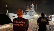 PF e Marinha apreendem mais de meia tonelada de haxixe em veleiro