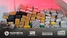 SP: dez suspeitos são presos com quase duas toneladas de maconha