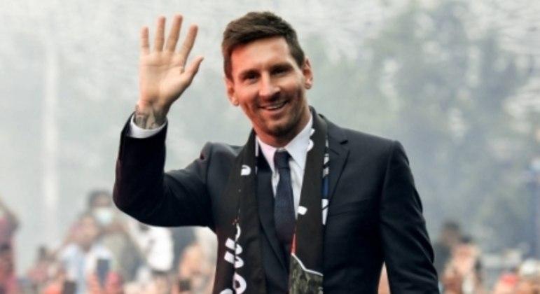 Apresentação de Messi no PSG