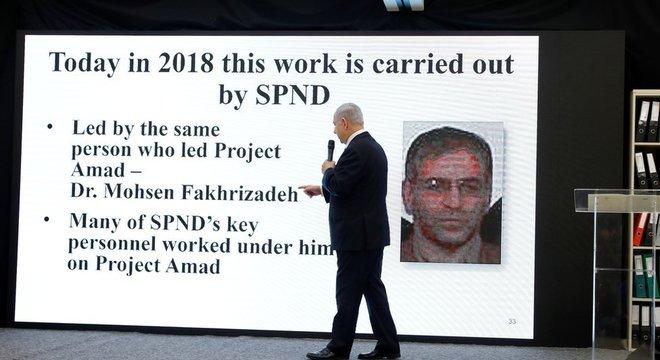 Segundo Israel, Fakhrizadeh trabalhava no desenvolvimento de armas nucleares