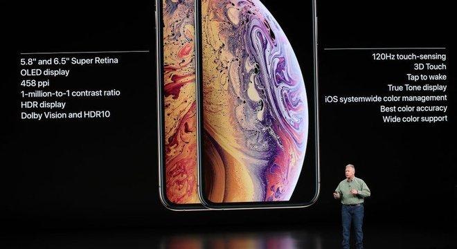 O custo total das peças passou de US$ 255 (iPhone 8) para US$ 370 (iPhone X)