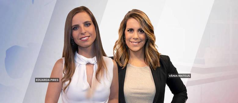 Eduarda Pires e Vânia Mateus apresentam o jornal Fala Portugal